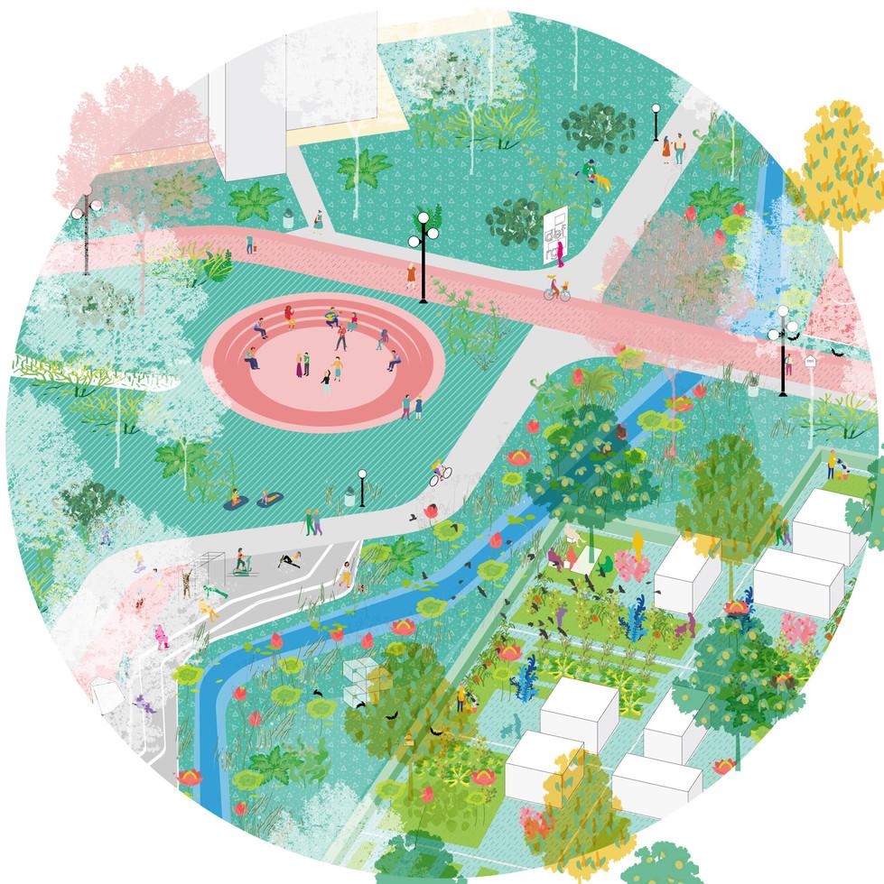 Nachhaltiger Park