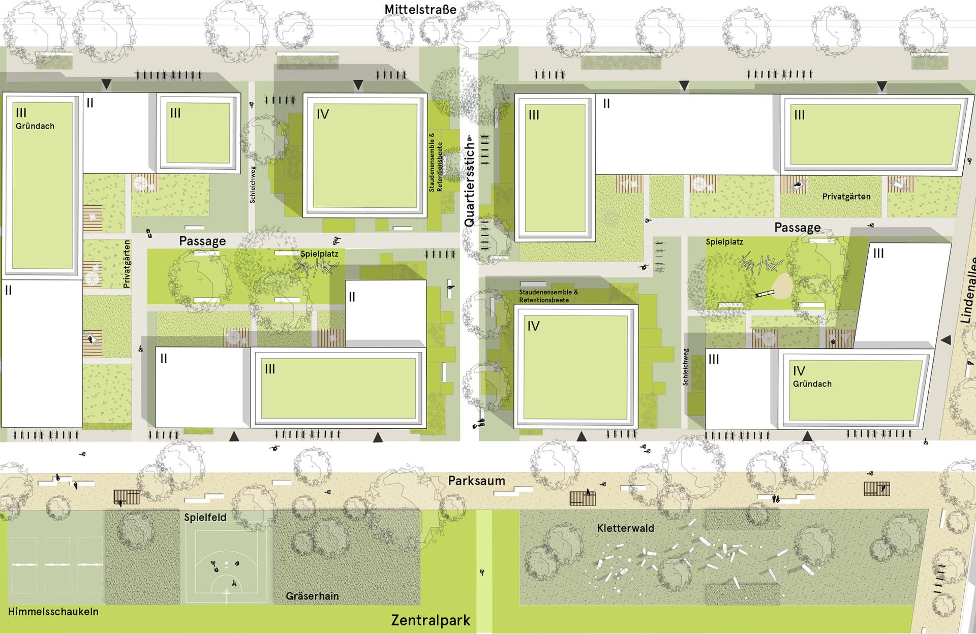 Lageplan Ausschnitt Central Park