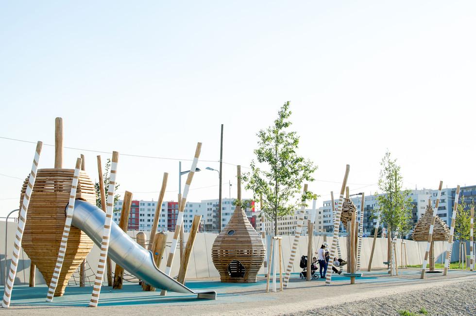 Seepark und Yella-Hertzka-Park I Wien, ÖsterreichPaloma Quartier I Hamburg