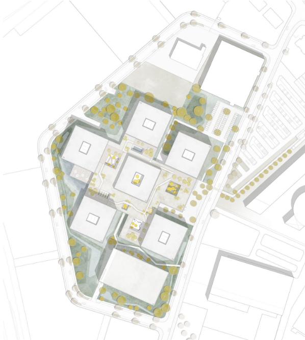 Lageplan Datev-Campus
