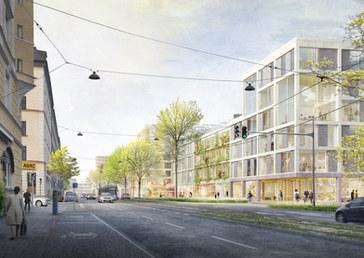 Neubebauung Orleansstraße / Orleanshöfe I München