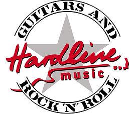 Hardline Logo mit Stern Guitars and Rock