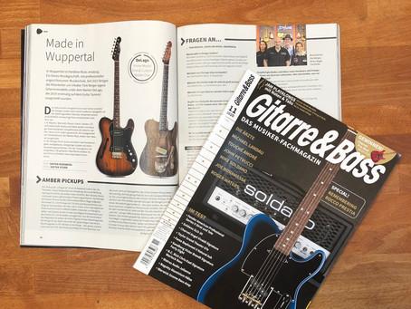 Delago Guitars im aktuellen Gitarre & Bass Magazin! (Ausgabe 11/2020)