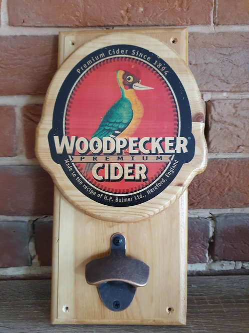 Woodpecker 3D Bottle Opener