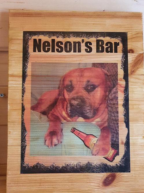 Double sided Bespoke Pub sign