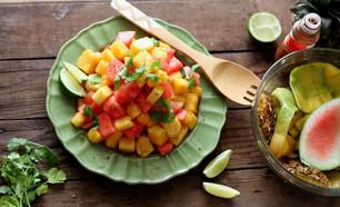 ENSALADA DE FRUTA CON CHILE- MEXICAN FRUIT SALAD