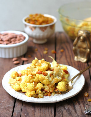 COLD CURRIED CAULIFLOWER SALAD