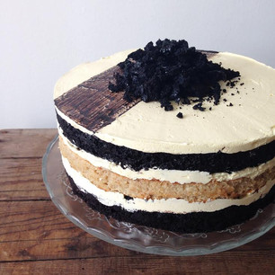VEGAN COOKIES AND CREAM ICE BOX CAKE | Collaboration with Wizard of AAhs, Chef Jaime Craten
