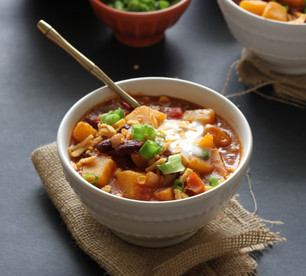 EASY VEGAN PUMPKIN CHILI