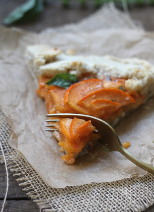 PERSIMMON AND BASIL GALETTE