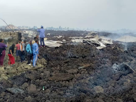 May 23, 2021 | Volcano Eruption in Goma, DRC