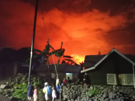 May 22, 2021 | Volcano Eruption in Goma, DRC