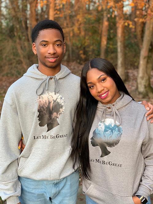 Let me be GREAT ladies Sweatshirt