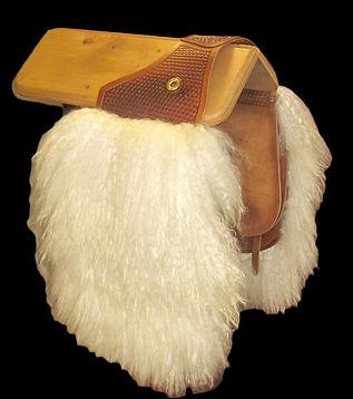 angora saddle bags