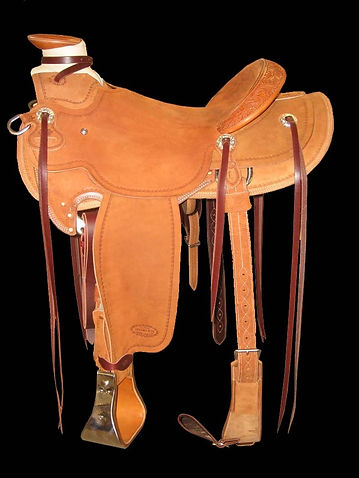 Western Saddle, Swanke Saddle