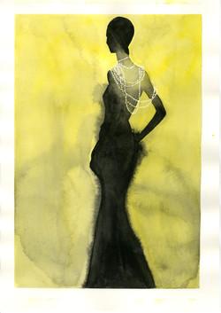 black yellow pearls006_edited