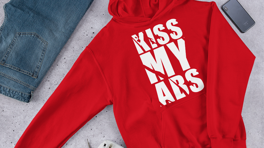 unisex-heavy-blend-hoodie-red-front-605a