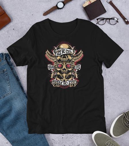 unisex-premium-t-shirt-black-front-605a4