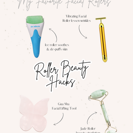 How to Use a Facial Roller For Flawless Glowing Skin✨