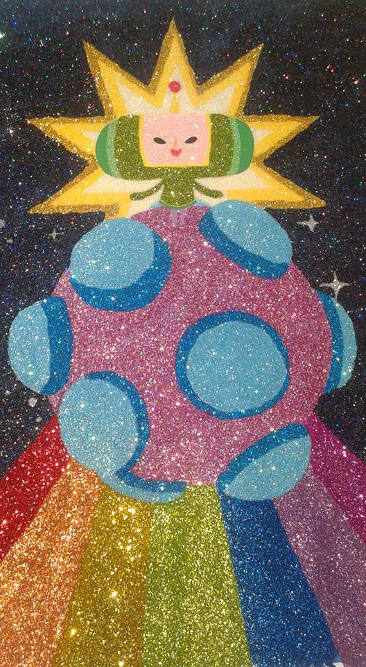 Glitter Pop Art Katamari Damacy