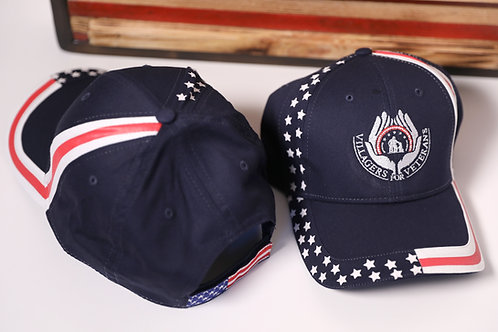 Villagers for Veterans Blue Hat