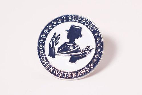 Women's Veterans Support Pin