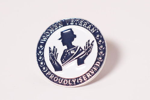 Women's Veterans Served Pin