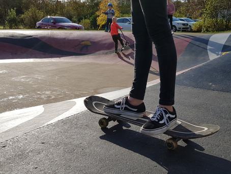 Skateparks across Perthshire