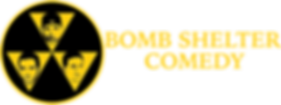 Bomb Shelter Comedy Show (Logo - Yellow)