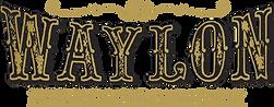 gold clear Waylon logo.png