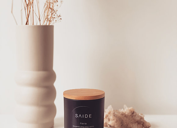 LARGE SOY CANDLE [MATTE BLACK COLLECTION]