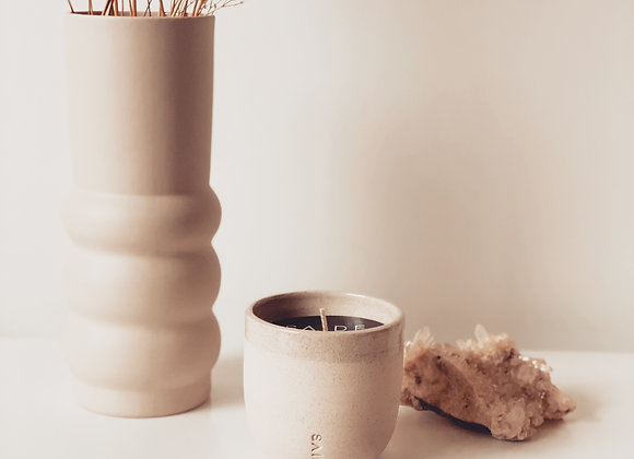 LARGE SOY CANDLE [CERAMIC COLLECTION]