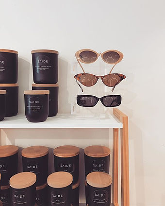 Get your shades, candles + spring outfit
