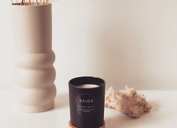 SMALL SOY CANDLE [MATTE BLACK COLLECTION]