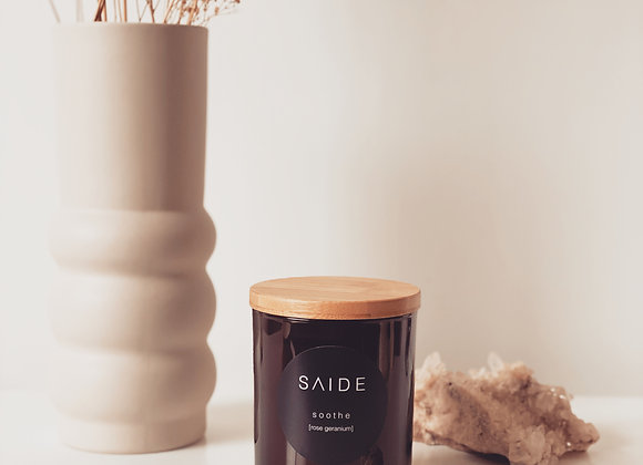 LARGE SOY CANDLE [ZEN COLLECTION 100% ESSENTIAL OIL]