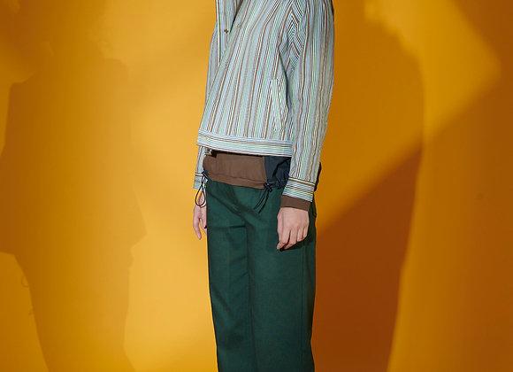 Rainbow Stripe Crop Jacket