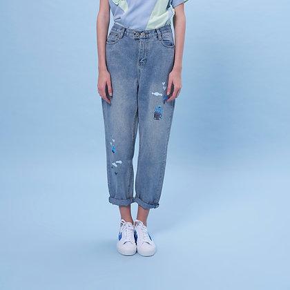 Oplus2 Traveler Sticker Jeans