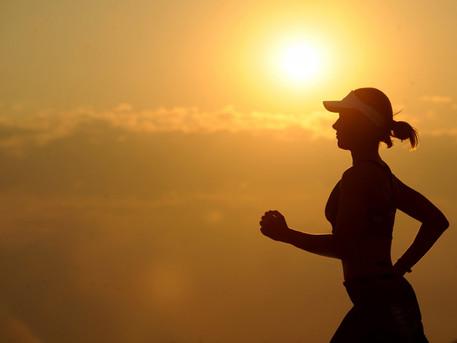 Athletes training outdoors require proper education on UV exposure