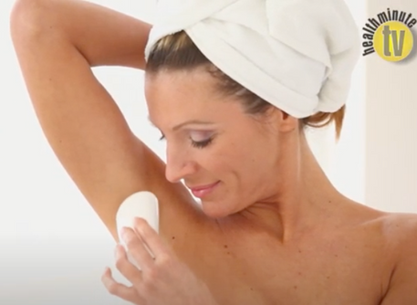 VIDEO: Aluminum absorption through skin from antiperspirants not significant