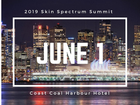 Registration still open for the 2019 Skin Spectrum Summit in Vancouver
