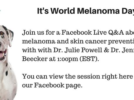 World Melanoma Day: CDA hosting Facebook Live session at 1 p.m. EST