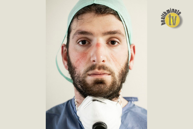 VIDEO: Bundle of skin protecting items may help mitigate facial pressure injuries caused by PPE