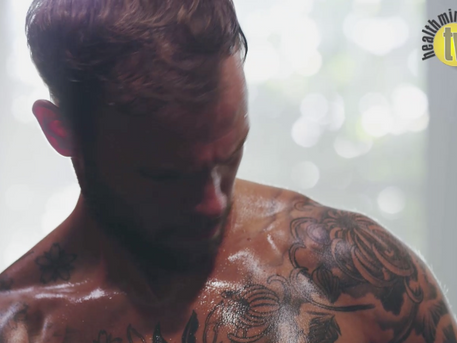 VIDEO: Damage to sweat glands caused by tattooing affects body's heat dissipation