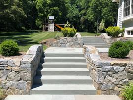 Masonry Walls and Steps