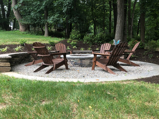 Natural Fire Pit Area