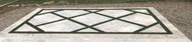 Turf Inlay Paving Pattern