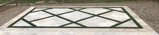 Turf Inlay Paving Pattern