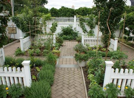 Elegant Potager Gardens