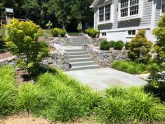 Custom Masonry Walls and Steps