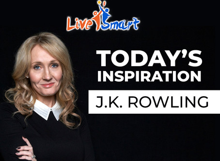 Today's Inspiration: J.K. Rowling